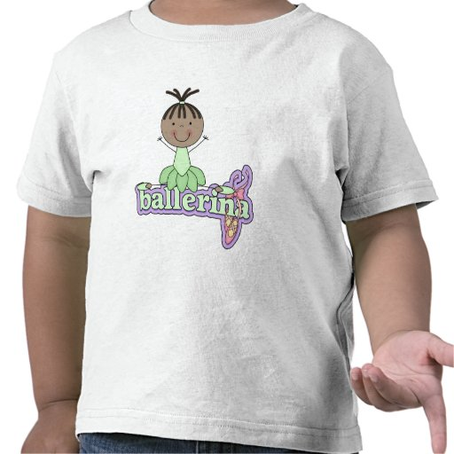 Ballerina - Green T-shirts and Gifts