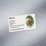 Ballerina Horse Magnetic Business Cards