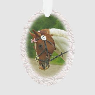 Ballerina Horse Ornament