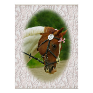 Ballerina Horse Poster