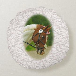 Ballerina Horse Round Pillow