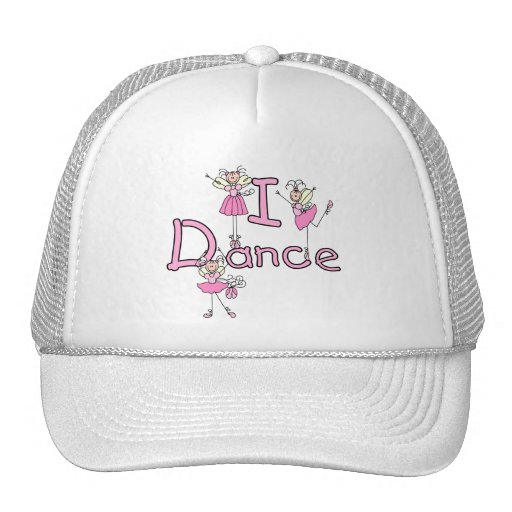 Ballerina I Dance T-shirts and Gifts Mesh Hat