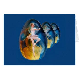 Ballerina in Alien Galaxy Card