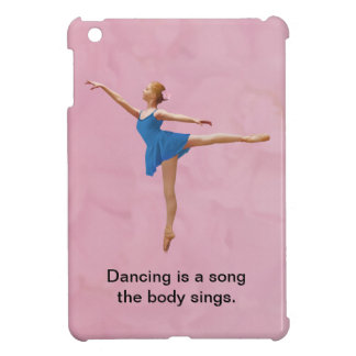 Ballerina in Arabesque Customizable Case For The iPad Mini