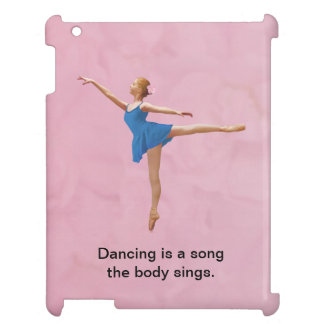 Ballerina in Arabesque Customizable iPad Case