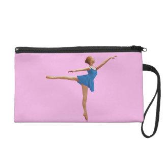 Ballerina in Arabesque Wristlet