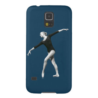 Ballerina in Black and White Galaxy S5 Cover