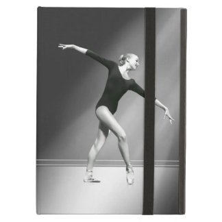 Ballerina in Black and White Customizable Cover For iPad Air