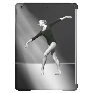 Ballerina in Black and White Customizable iPad Air Cases