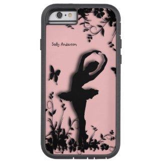 Ballerina in Garden Personal Pink Tough iPhone 6 Case