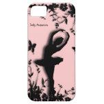 Ballerina in Garden Pink Personal iPhone 5 Case