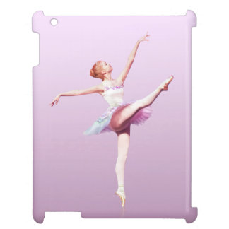 Ballerina in Pink and Lavender Cover For The iPad
