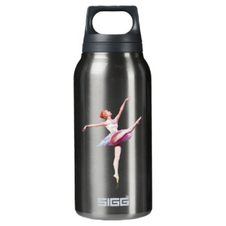 Ballerina in Pink and Lavender Insulated Water Bottle