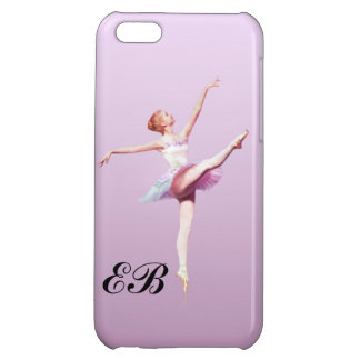 Ballerina in Pink and Lavender, Monogram iPhone 5C Cover