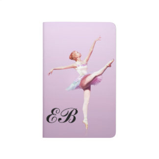 Ballerina in Pink and Lavender, Monogram Journal