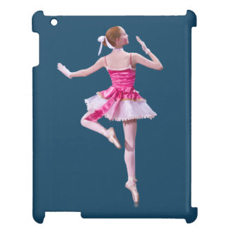 Ballerina in Pink and White Cover For The iPad