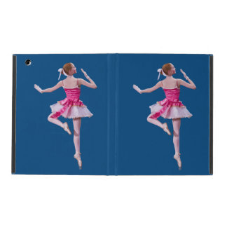 Ballerina in Pink and White iPad Case