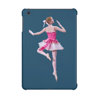Ballerina in Pink and White iPad Mini Cover