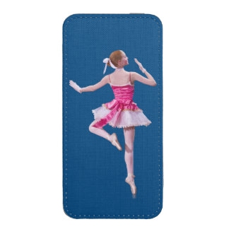 Ballerina in Pink and White iPhone 5 Pouch