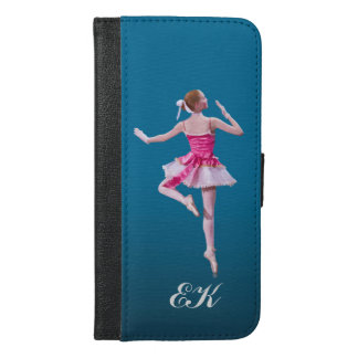Ballerina in Pink and White, Monogram