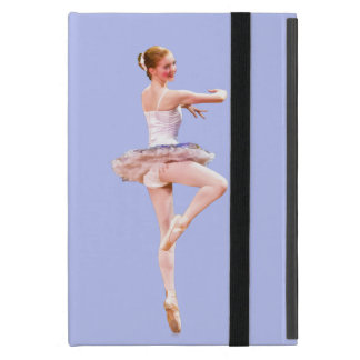 Ballerina in Purple and White Customizable Case For iPad Mini