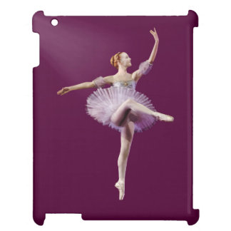 Ballerina in Purple and White Customizable Case For The iPad 2 3 4