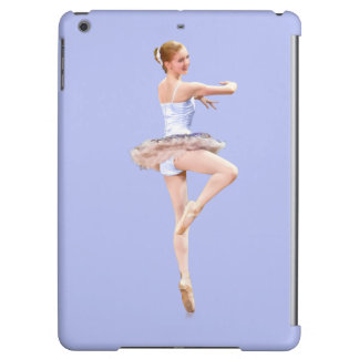 Ballerina in Purple and White iPad Air Cases