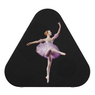 Ballerina in Purple and White Speaker