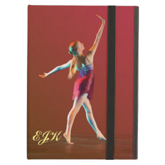 Ballerina in Red, Monogram iPad Air Cover