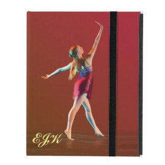 Ballerina in Red, Monogram iPad Covers