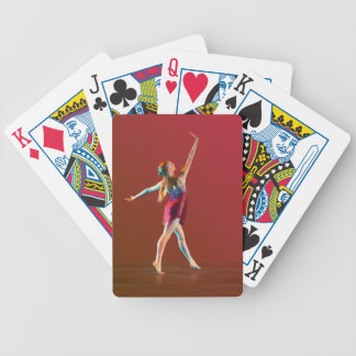 Ballerina in Red Bicycle Playing Cards