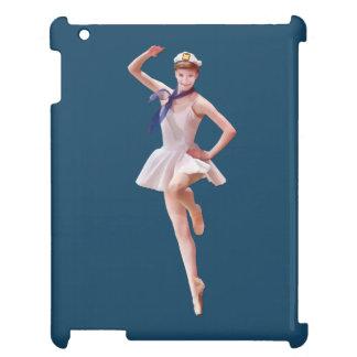 Ballerina in Sailor Costume Customizable Case For The iPad