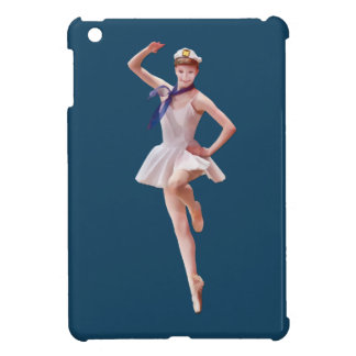 Ballerina in Sailor Costume Customizable Case For The iPad Mini