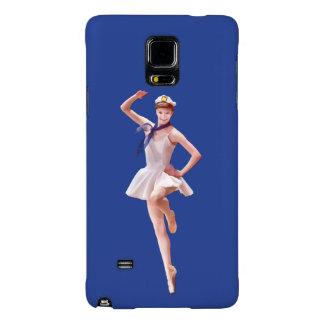 Ballerina in Sailor Costume Customizable Galaxy Note 4 Case