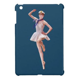 Ballerina in Sailor Costume Customizable iPad Mini Covers