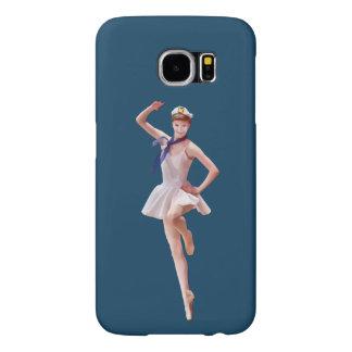 Ballerina in Sailor Costume Customizable Samsung Galaxy S6 Cases