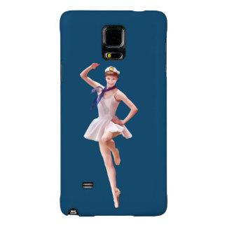 Ballerina in Sailor Costume Galaxy Note 4 Case