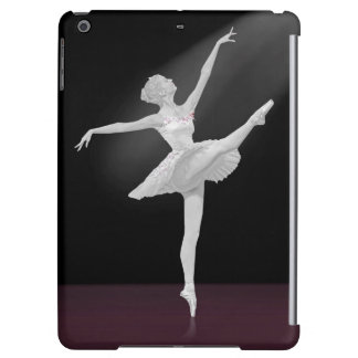 Ballerina in Silver and Black iPad Air Cover