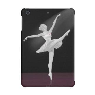 Ballerina in Silver and Black iPad Mini Retina Covers