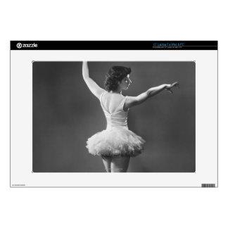 "Ballerina in Tutu 15"" Laptop Skin"