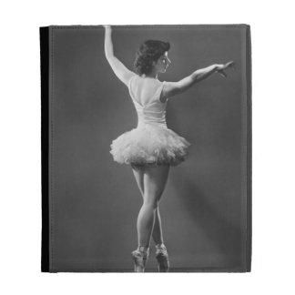 Ballerina in Tutu iPad Folio Cases