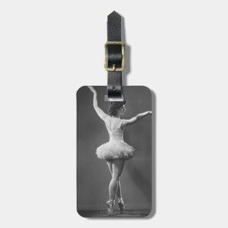 Ballerina in Tutu Luggage Tag