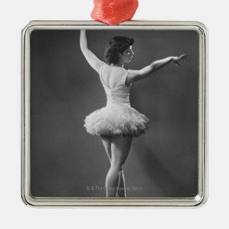 Ballerina in Tutu Metal Ornament
