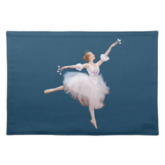 Ballerina in White, Customizable Placemat