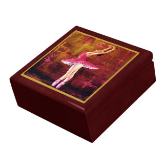 Ballerina Keepsake Jewelry Gift Box