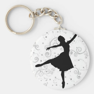 Ballerina Keychain