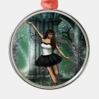 Ballerina Metal Ornament