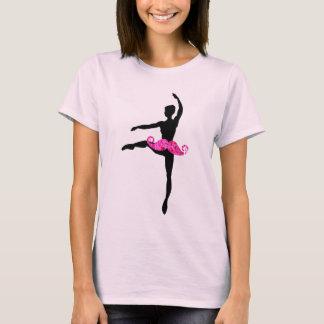 Ballerina Moustache T-Shirt