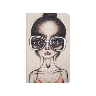 Ballerina Nerd Notebook