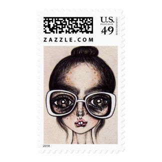Ballerina Nerd Stamps